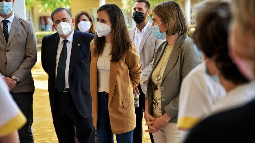 Ione Belarra se olvida de Málaga en su lista para la nueva dirección nacional de Podemos
