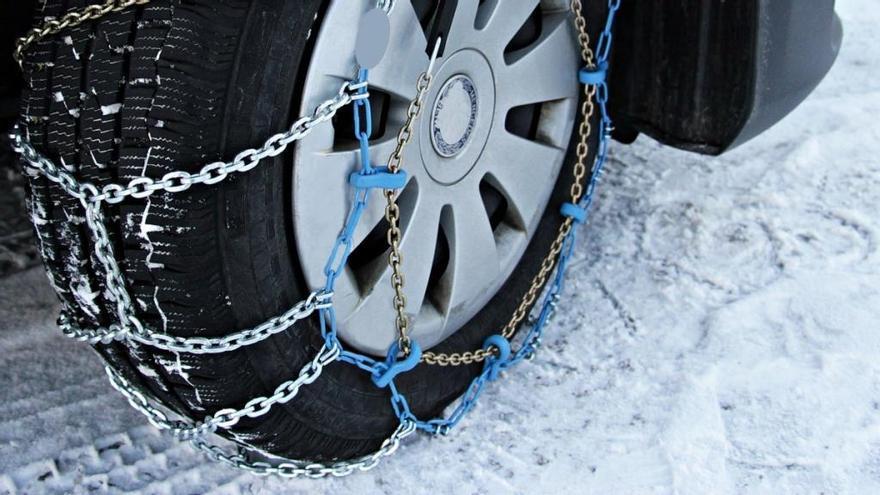 ¿En qué ruedas hay que poner las cadenas?
