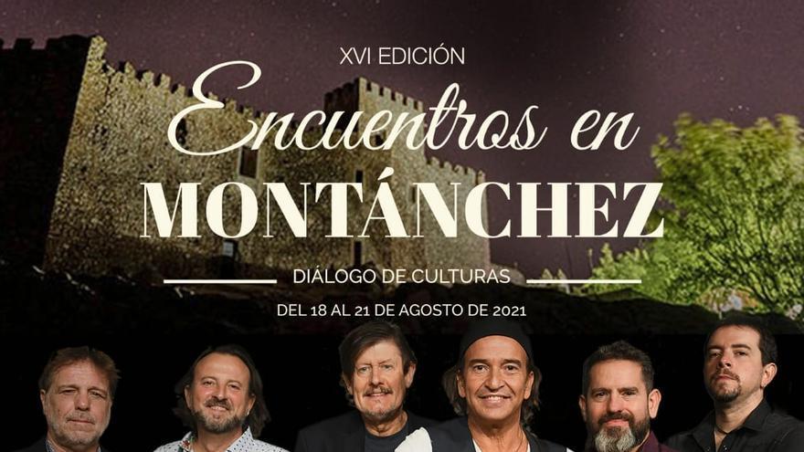 Los Secretos y José Manuel Soto actuarán en Montánchez