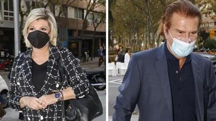Terelu Campos y Edmundo Arrocet se reencuentran ante una tragedia