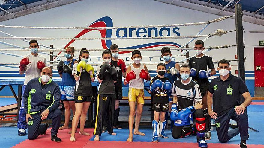 Kickboxing: La selección asturiana se concentra antes del campeonato nacional