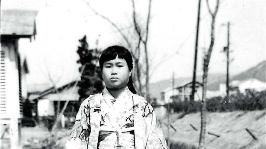 La huella pacifista de la pequeña 'hibakusha'