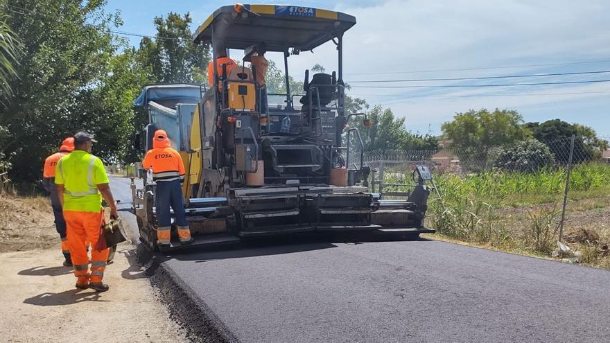 Rafal invierte 106.000 euros en acondicionar su red de caminos rurales