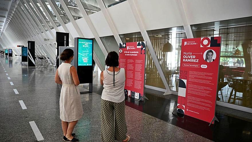 Los premios Jaume I en el Museu de les Ciències
