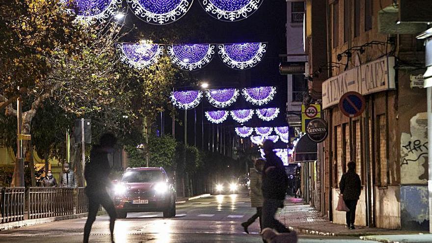 No habrá rastro de Papá Noel en la iluminación navideña de Sagunt