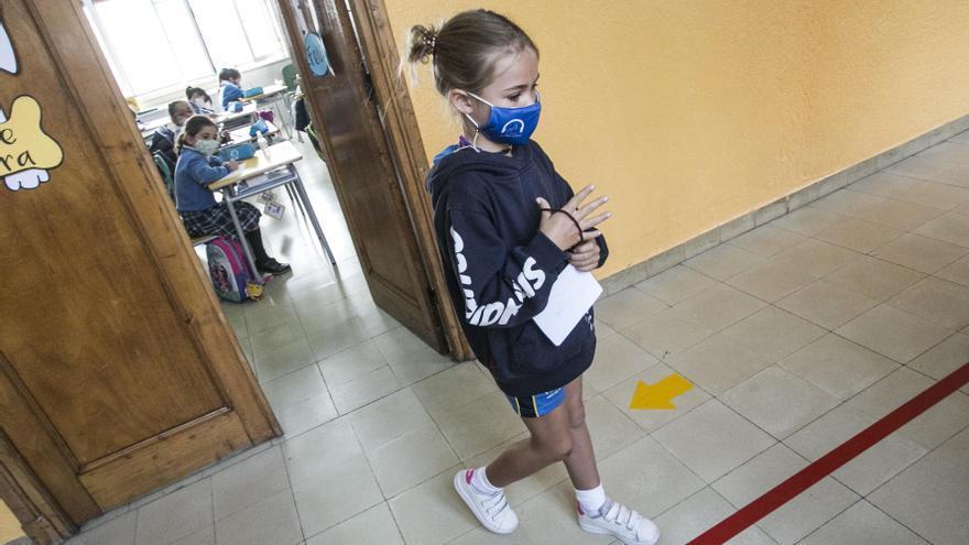 Los colegios asturianos, con menos contagios y menos incidencias