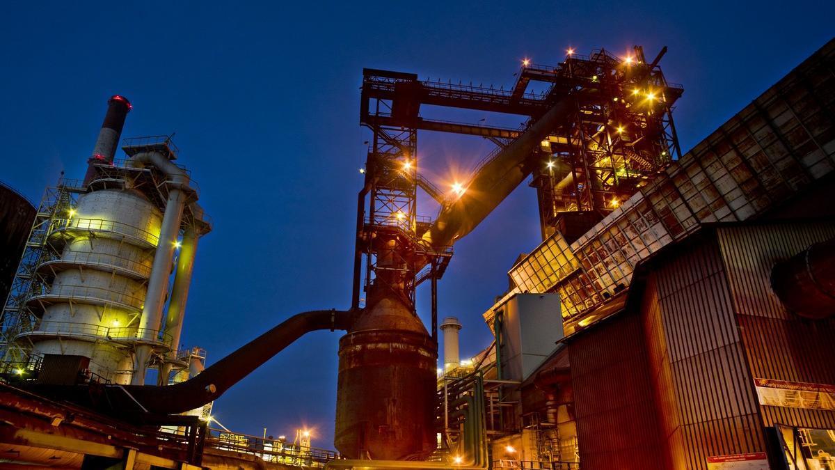 Instalaciones de Arcelor.