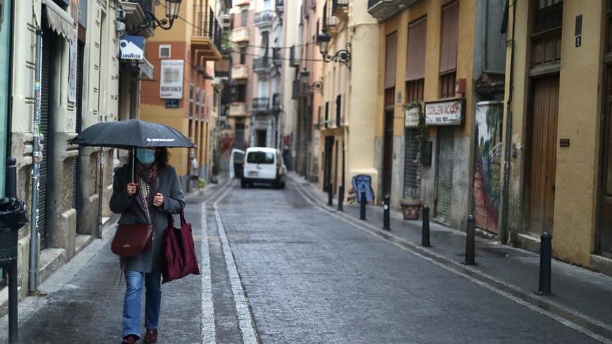 El tiempo en València: Lluvia para empezar el fin de semana