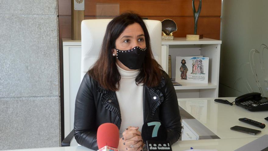La alcaldesa de Meis, confinada por ser contacto de un positivo en coronavirus