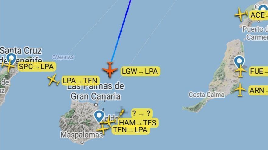 Un vuelo de Londres a Canarias pide ayuda policial por pasajeros conflictivos