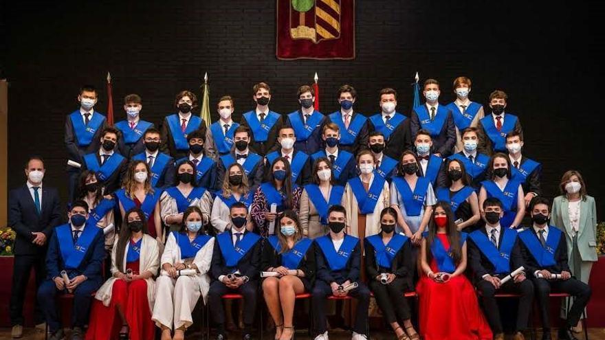 El colegio Palacio de Granda orgulloso de sus alumnos de 2º de Bachillerato: 100% de aprobados