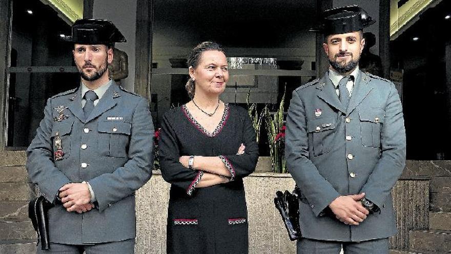 """Maria Salom: """"Ich vertraue auf unsere Polizeikräfte"""""""