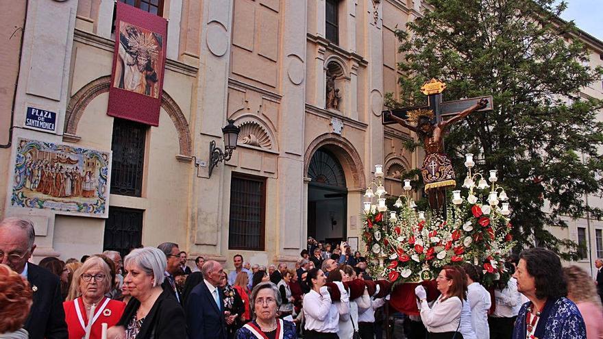 El Cristo de la Fe hará la primera procesión  postconfinamiento pero sin sacar la imagen