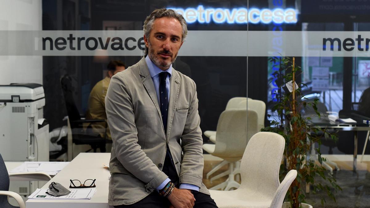 Marcos Relaño, gerente de Promociones de Metrovacesa en Córdoba.