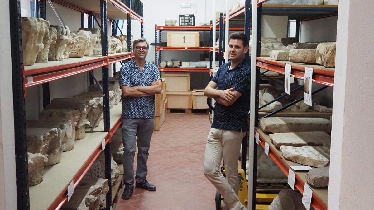 Estancias del Museo Arqueológico de Córdoba donde se depositan las piezas.
