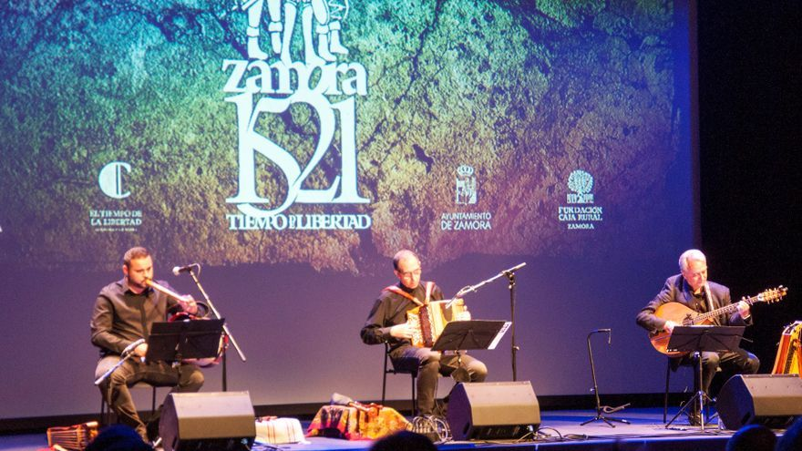 Villalpando acoge un concierto teatralizado que recorre la historia y la cultura de Zamora