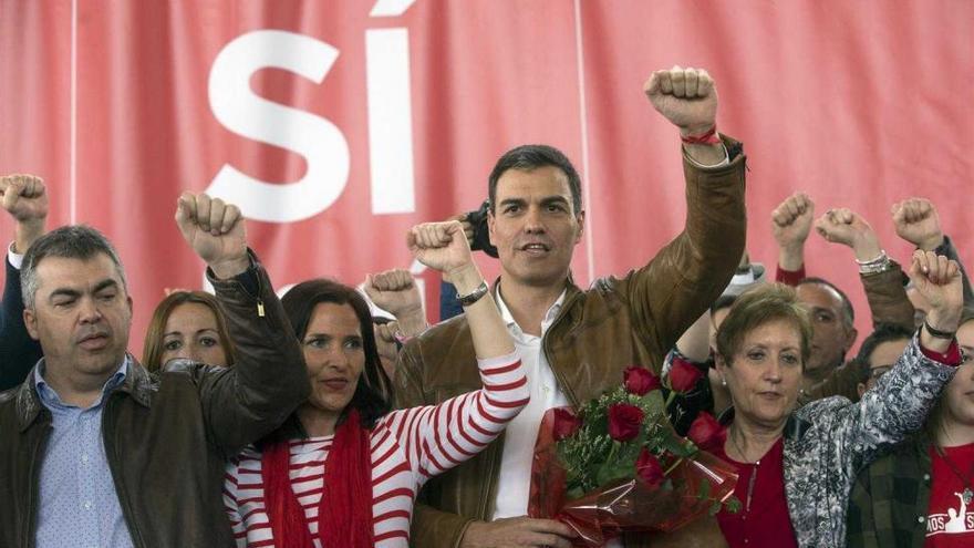 Pedro Sánchez gana con claridad en Castellón con el 60% de los votos