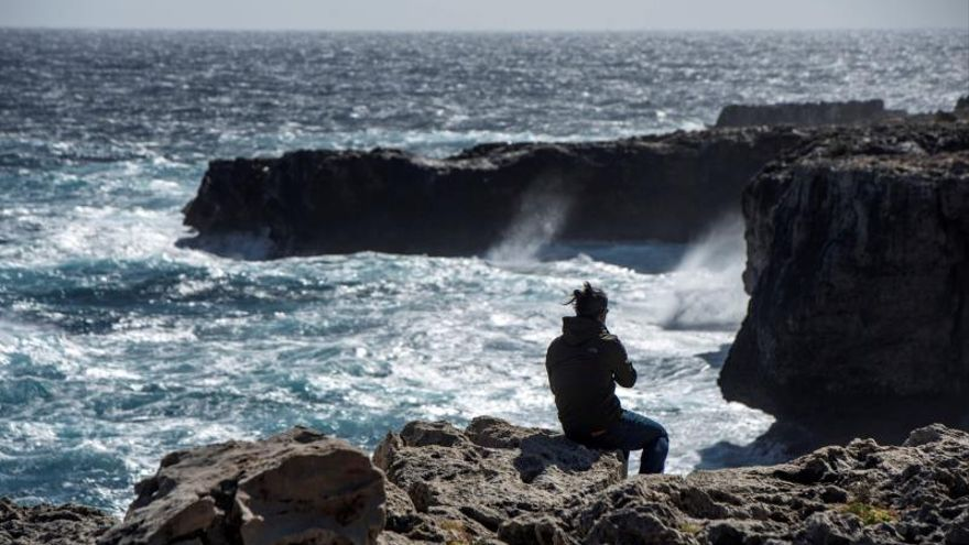 Un temporal trae el frío a Mallorca