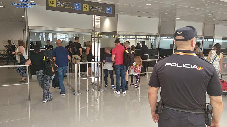 Traficantes de personas utilizan Palma para entrar en Reino Unido