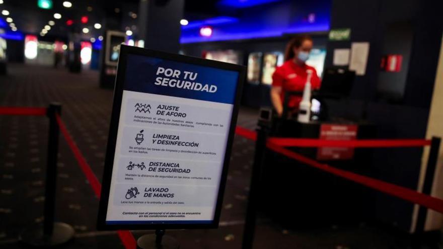 Los cines Yelmo Alicante se suman al cierre temporal de sus salas