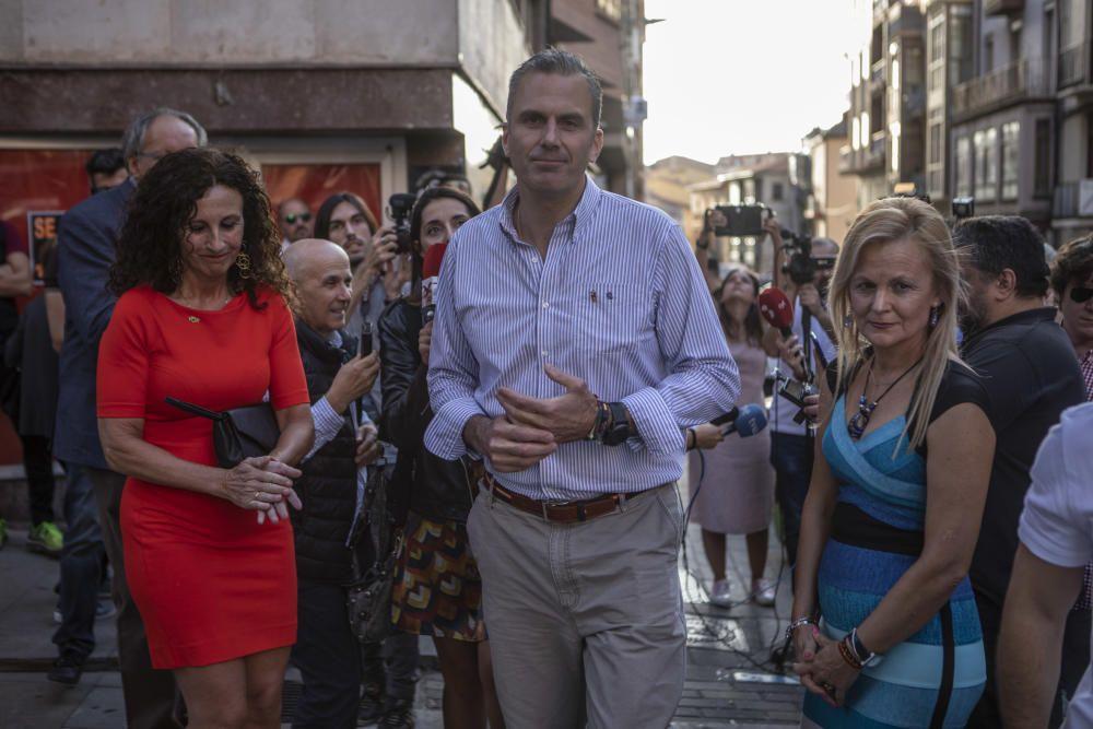 Ortega Smith visita la nueva sede de Vox en Zamora