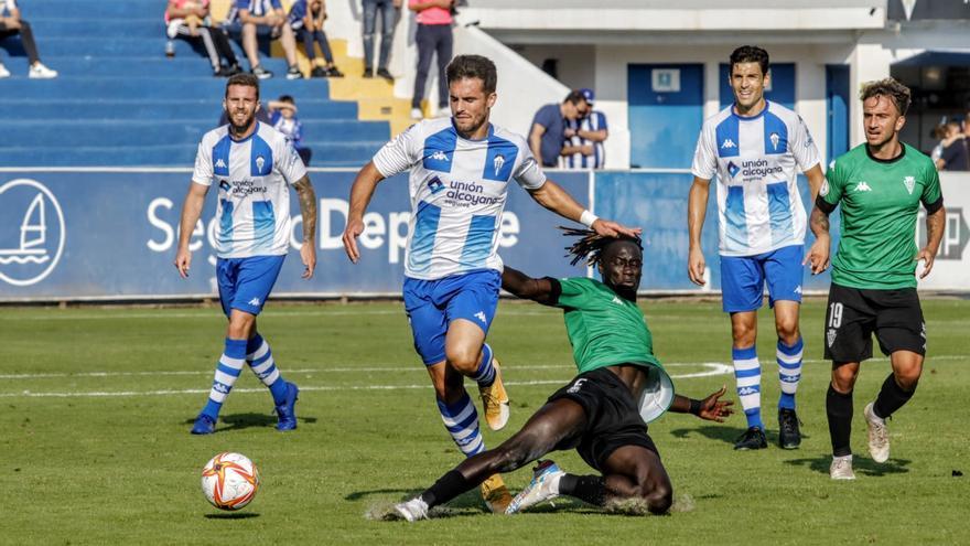 El Alcoyano pierde su segundo partido consecutivo