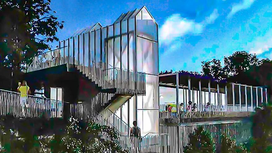 Barrio do Cura reforzará sus servicios con una nueva guardería de tres aulas y hasta 82 plazas