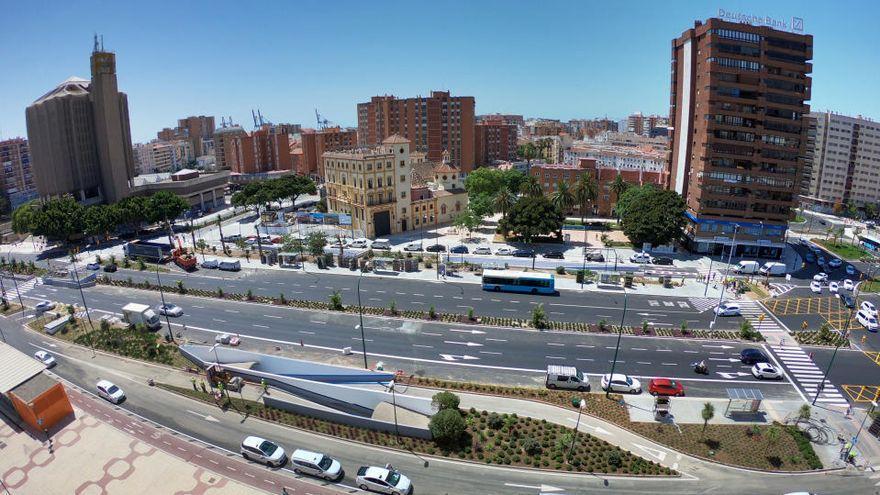 Ejecutan un sistema que facilitará el transbordo a los usuarios del metro en la zona del Guadalmedina