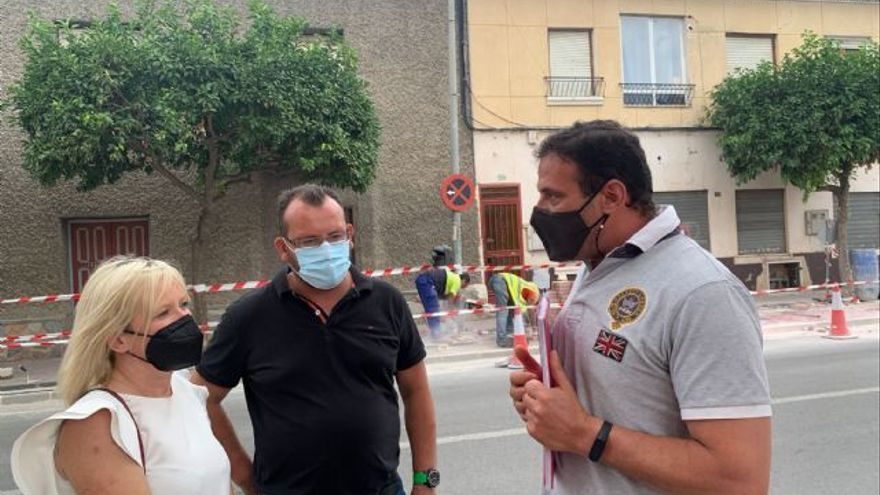El Ayuntamiento de Murcia arregla las principales calles de Patiño