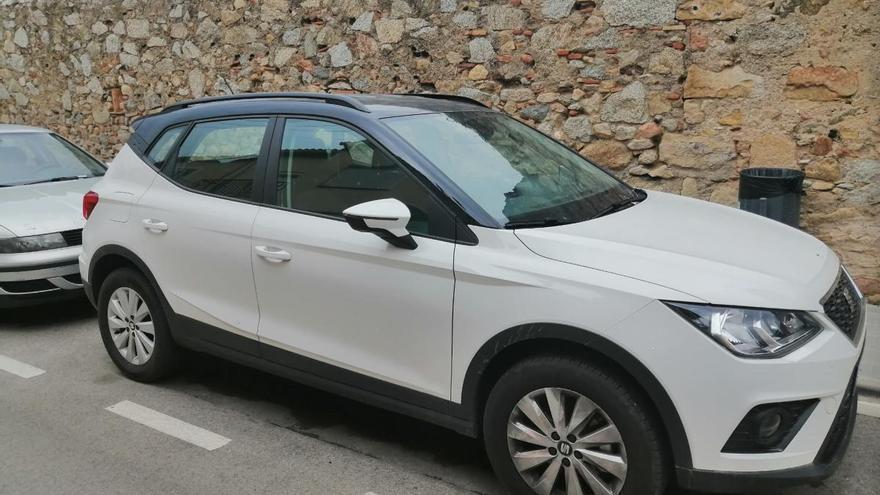 La Policia Local de la Jonquera recupera un cotxe robat a Galícia el 2020