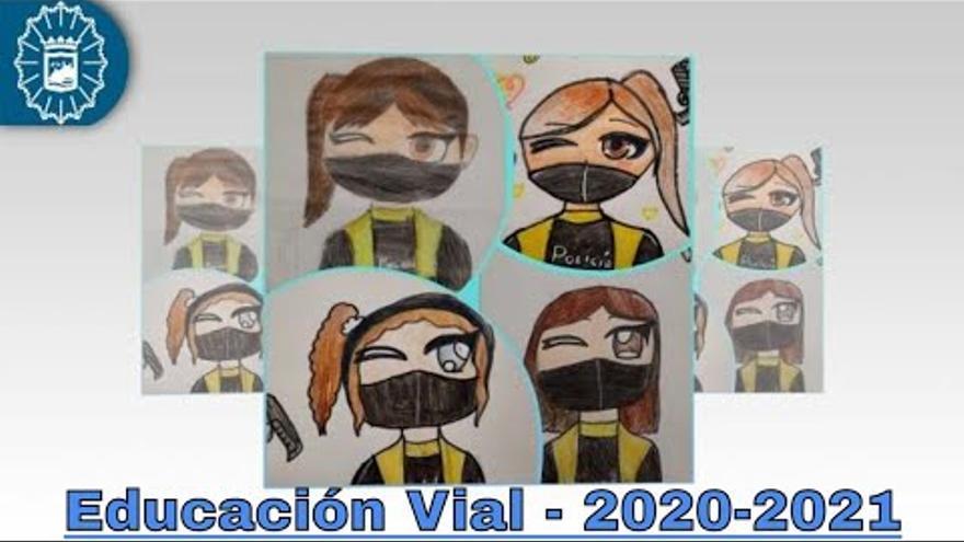 La Policía Local de Málaga enseña seguridad vial a 6.174 alumnos de 148 colegios de la capital