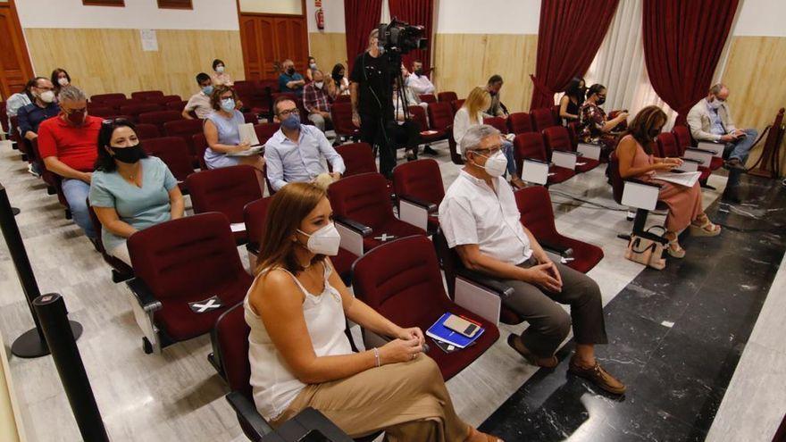 Los concejales regresan al pleno de forma presencial tras 7 meses de sesiones telemáticas por el covid
