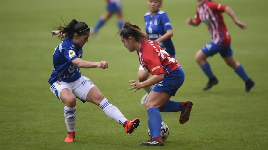 Prueba de rivalidad: la previa del derbi femenino que se juega hoy en Oviedo
