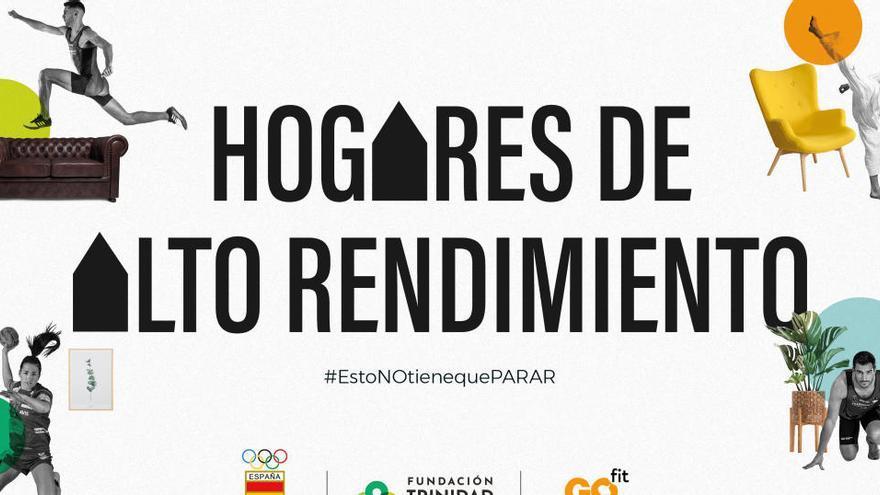 Fundación Trinidad Alfonso, COE y Go fit, con los deportistas de élite
