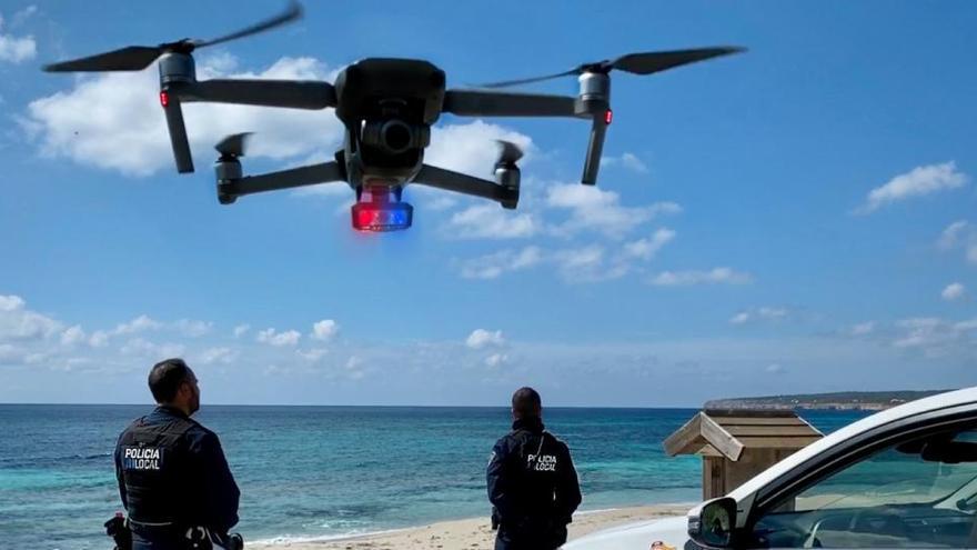 Drones y rastreos en redes sociales para detectar fiestas ilegales en el puente y Navidades en Baleares