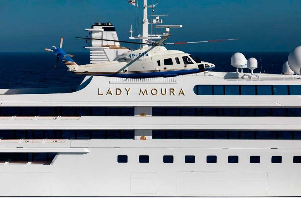 El yate 'Lady Moura' se pone a la venta