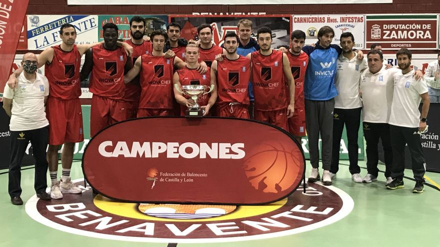 Innofa Chef, campeón de la Copa Castilla y León de LEB Plata