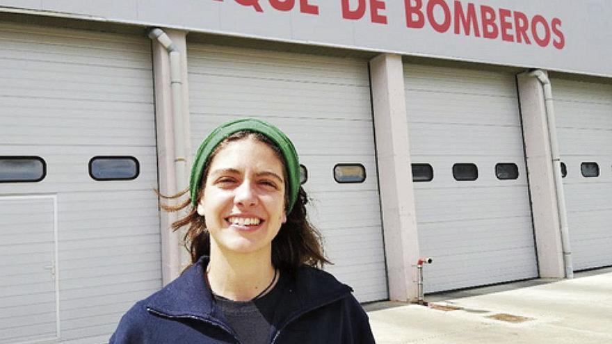 """""""Para ser bombera en Oviedo hay que ser Superwoman, por eso no hay ni una chica"""""""