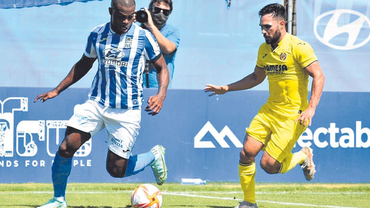 Partido del Villarreal B frente al Atlético Baleares