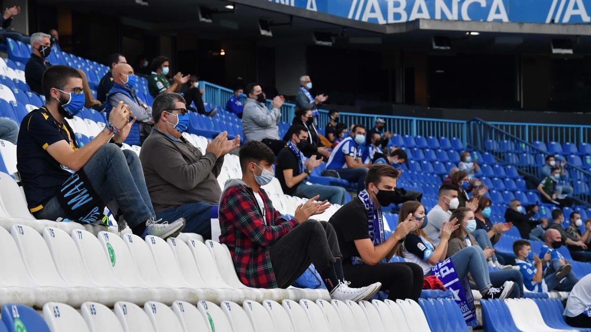 La Xunta autoriza 150 espectadores en Riazor, pero el club no venderá entradas