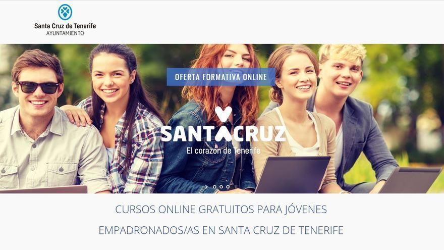 Santa Cruz pone en marcha 800 cursos de formación para jóvenes