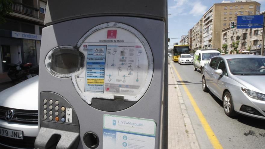 Sube el precio de la ORA en Murcia
