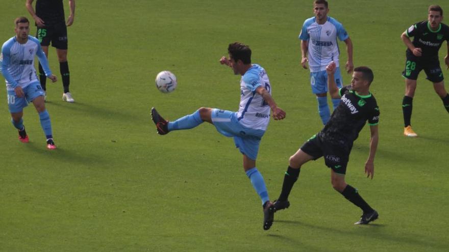 Análisis uno a uno de los jugadores del Málaga ante el Leganés