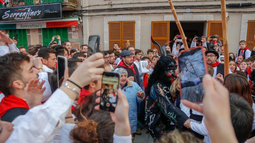Video-Reportage: In Sa Pobla ist der Teufel los