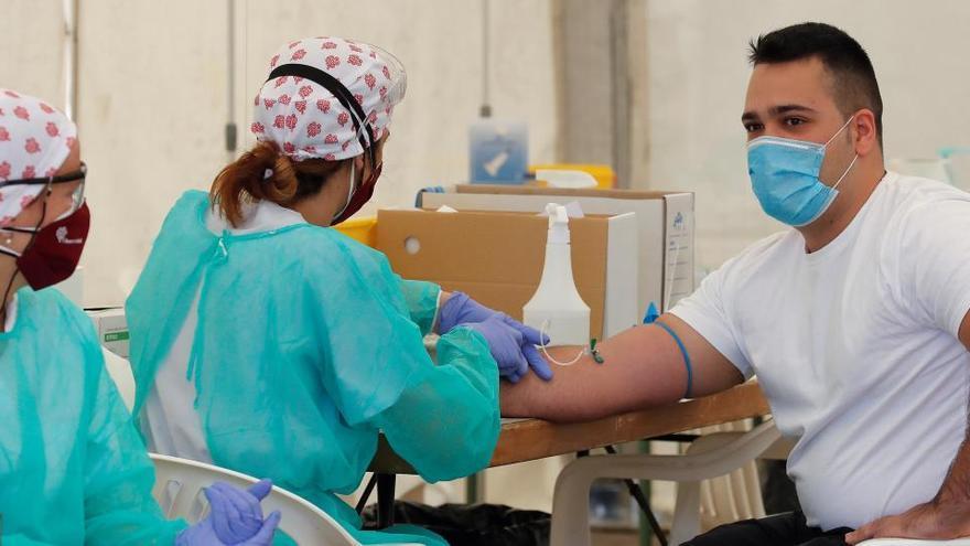 Los primeros datos del test masivo en Torrejón detectan un 20% de seroprevalencia