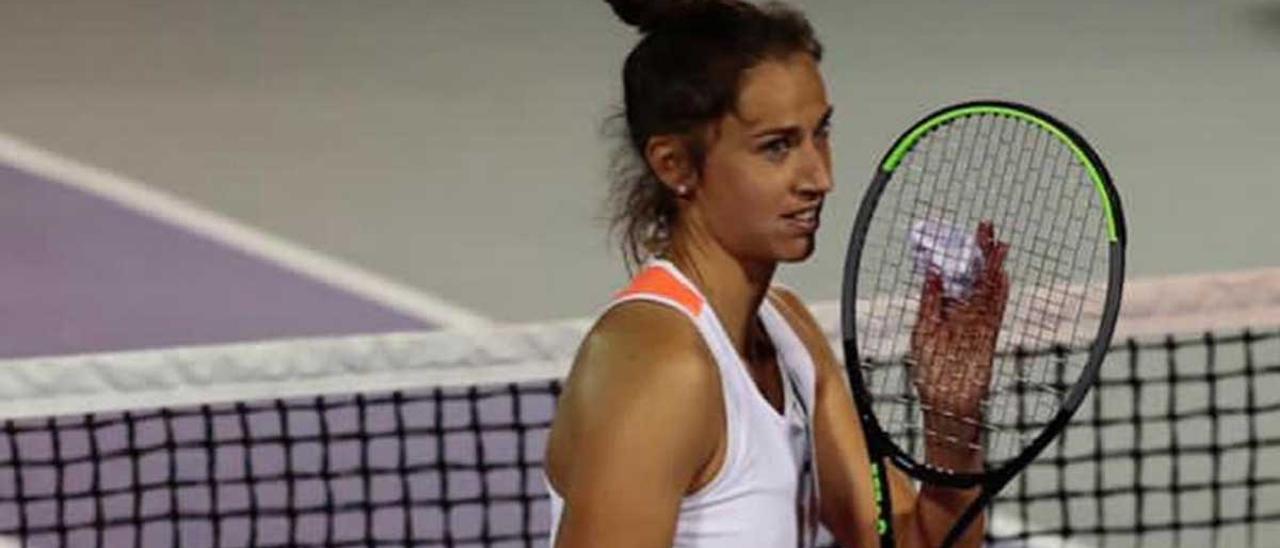 Sara Sorribes gana su primer torneo como profesional