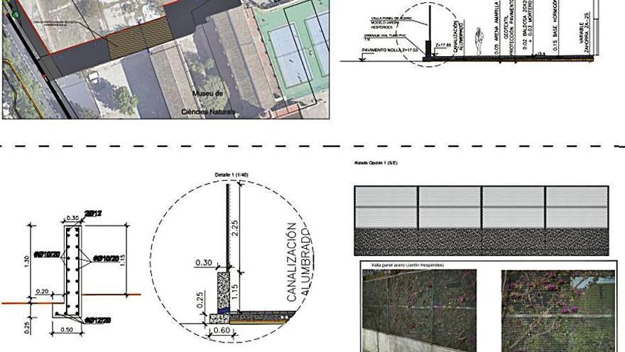 Aprobada la conexión provisional entre el Jardín Botánico y la Gran Vía