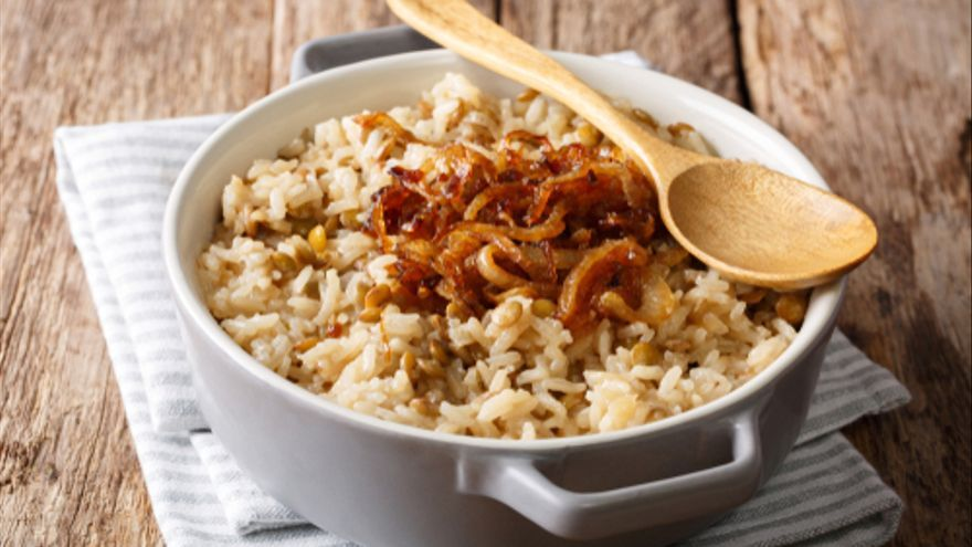 Arroz estilo morisco