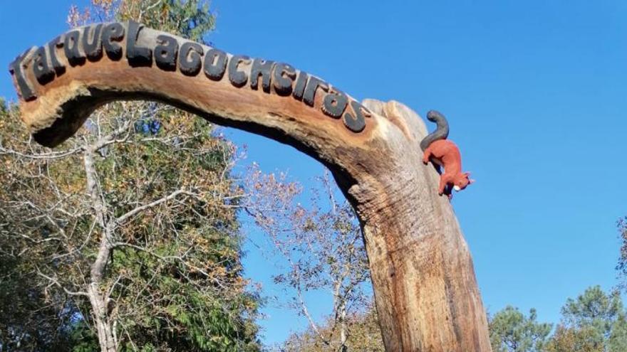 Yosi Fervenza deja su sello en el parque de Lagocheiras