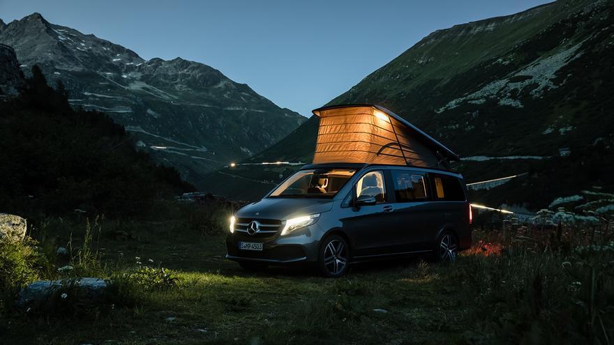 Mercedes-Benz expone la gama Marco Polo y el nuevo Sprinter furgón Camper en el Caravaning Barcelona